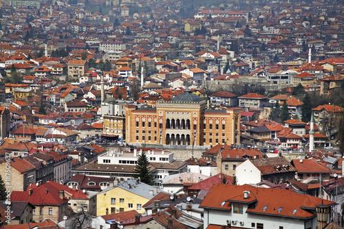 Panoramic view of Sarajevo. Bosnia and Herzegovina - 187509637