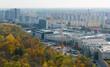 Image of view on modern residental areas of Bratislava
