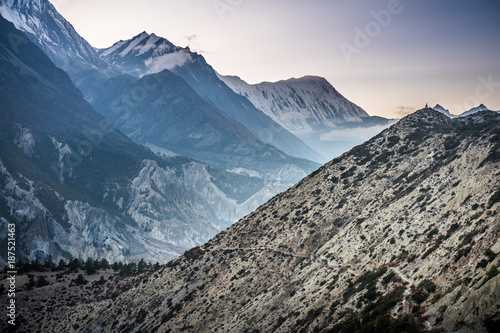 Foto Murales Path to Stupa