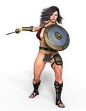 女性騎士 - 187523483