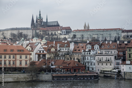 Poster Praag Prague the most beautiful city in the world