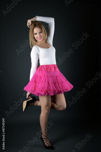 Foto Murales ballerina