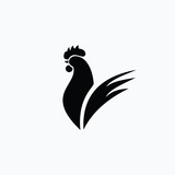 Rooster Logo Vector Template Design