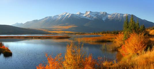 Talbot lake in Jasper national park