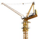 Construction crane isolated - 187572231