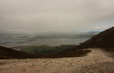 spectacular views of Clew Bay from mountain