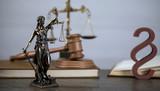 Law symbols. Court theme - 187582294