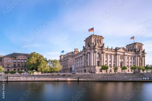 Aluminium Berlijn Reichstag in Berlin, Deutschland.