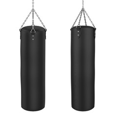 Punching Bag Isolated © nerthuz