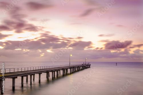Aluminium Strand Milky Sunset