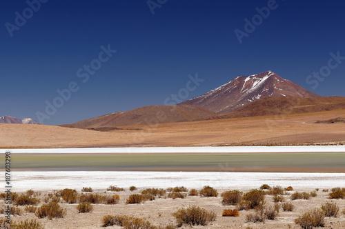 Bolivia desert landscape - 187603298
