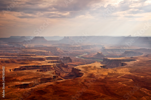 View on Canyonlands National park, Utah, USA - 187605602