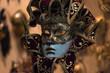 Venetian Carnival mask traditional - Venice , Italy