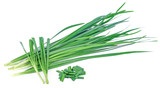Chinese chives, Garlic chives, Kow Choi - 187607253