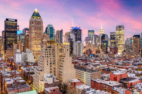 Foto op Aluminium New York New York City Midtown Cityscape