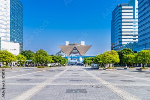 Fotobehang Tokio 東京ビッグサイト周辺の街並み