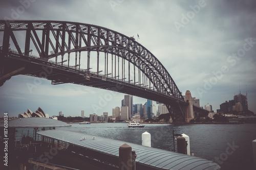 Foto op Canvas Sydney Sydney Harbour Bridge, Australia