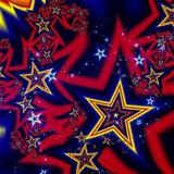 Colorful fractal stars - 187640295