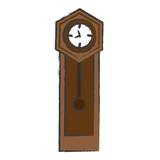 antique clock icon - 187643287
