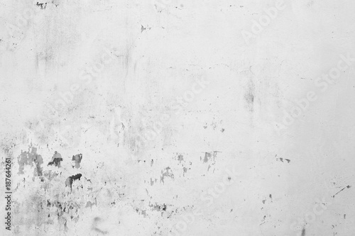Poster Betonbehang grey concrete wall texture