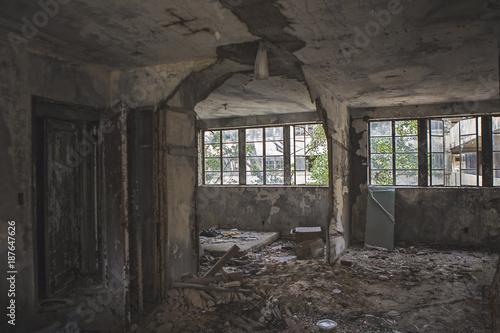 Fotobehang Oude verlaten gebouwen Abandoned Apartment