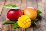 Fresh mango fruit  - 187654684