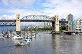 Burrard Street Bridge,Vancouver, Canada