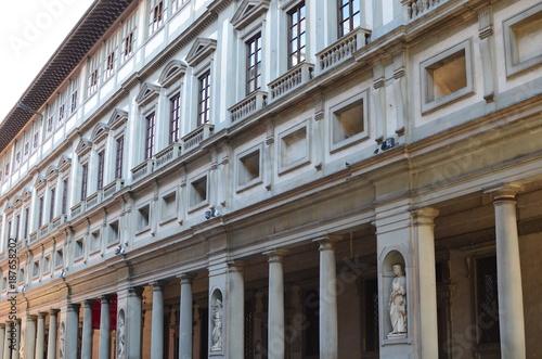 Deurstickers Toscane Firenze - Palazzo degli Uffizi