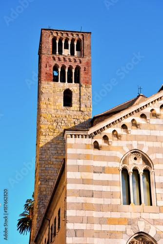 Foto op Plexiglas Liguria abbey holy Stephen century XI Genoa Italy