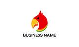 Cute Parrot Bird logo designs concept, Vector image of a toucan bird design - 187686278