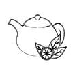 Natural lemon teapot