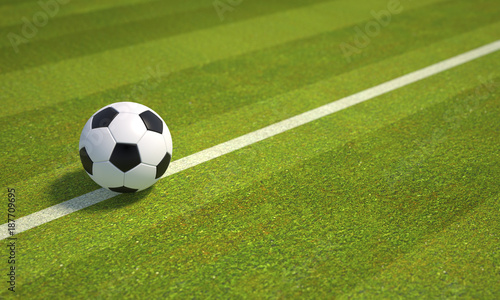 Football Field - 187709695