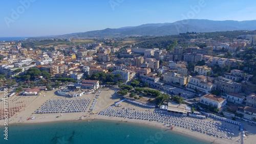 Papiers peints Bleu vert Beautiful aerial coast of Calabria in summer, Italy