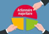 entreprise - association - investissement - présentation - dirigeant - patron - schéma - camembert - 187714279