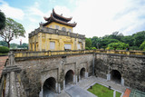 A UNESCO World Heritage Site, Imperial Citadel of Thang Long in Hanoi, Vietnam - 187715049
