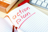 Action plan written in a note. - 187717802