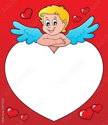 Foto op Plexiglas Voor kinderen Cupid thematics image 3