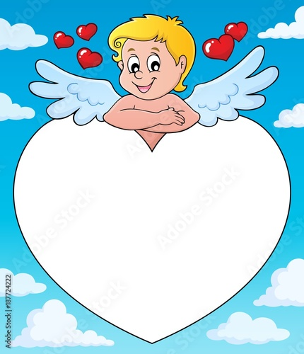 Deurstickers Voor kinderen Cupid thematics image 4