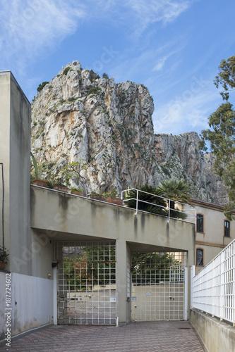 Fotobehang Palermo abusivismo edilizio