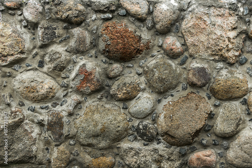 Foto op Canvas Stenen Wall of stones