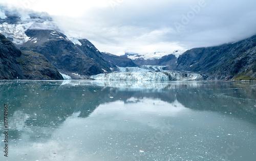 Aluminium Blauwe hemel Skagway. Alaska. Glacier Bay. National Park