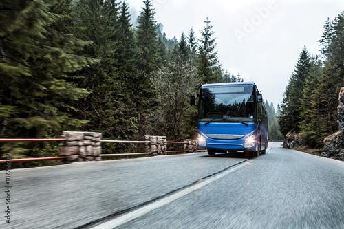 Fototapeta Bus on the road