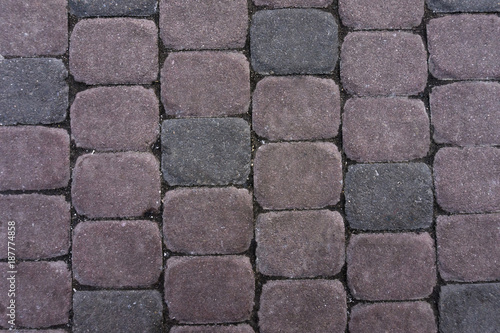 Foto op Canvas Stenen Background. Paving slabs