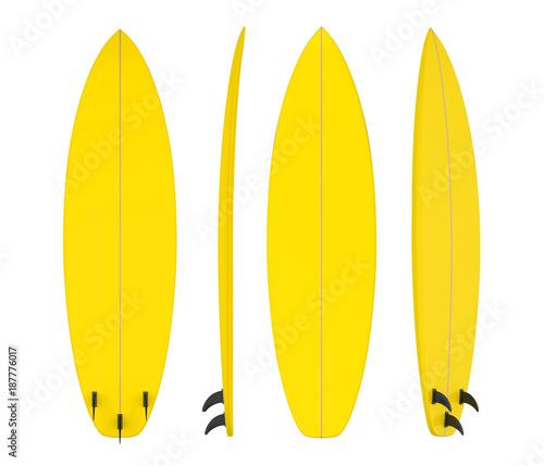 Fototapeta Surfboard Isolated
