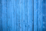 Blue wooden, empty, vintage background. Space for text, abstract, close up view with details.