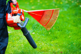 Leaf blower and rake  - 187787254