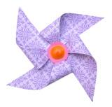One pinwheels on white - 187790608