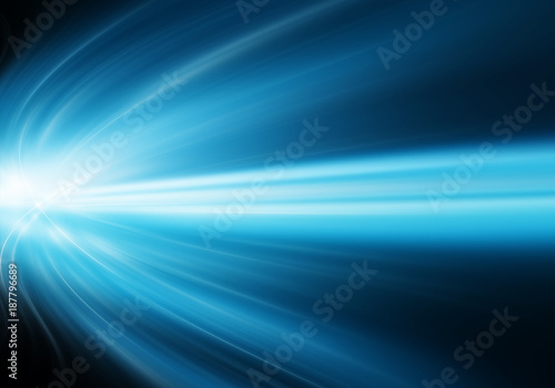 Abstract blue background - 187796689