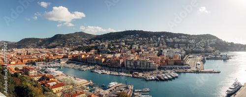 Fototapeta Beautiful Port of Nice, France