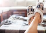 Soft comfortable home slipper - 187800818
